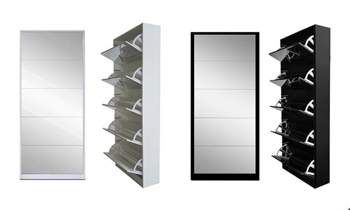 5 Door Mirror Shoe Cabinet for R1799