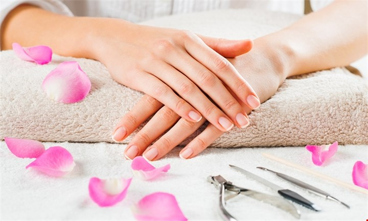 Manicure with Nail Treatment & Hand Massage for up to Two from R119