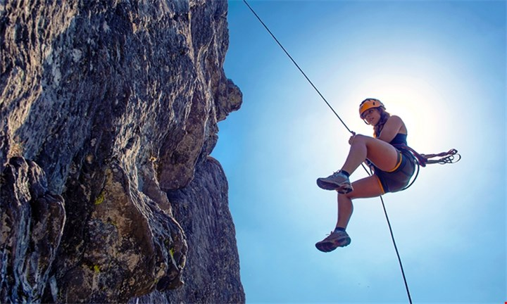 Abseiling from R145 for Two with Impact Adventure Africa