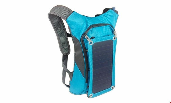 Hydration Solar Backpack & Battery for R1199