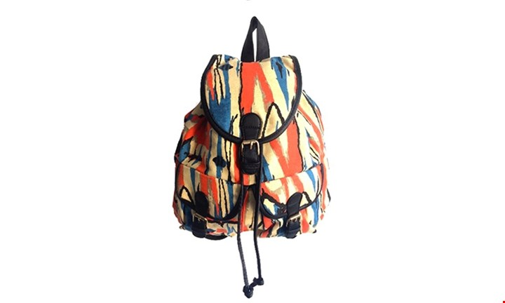 Aztec Print Backpack for R179