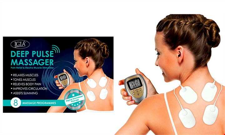 Igia Slimming Deep Pulse Massager for R299 incl Delivery