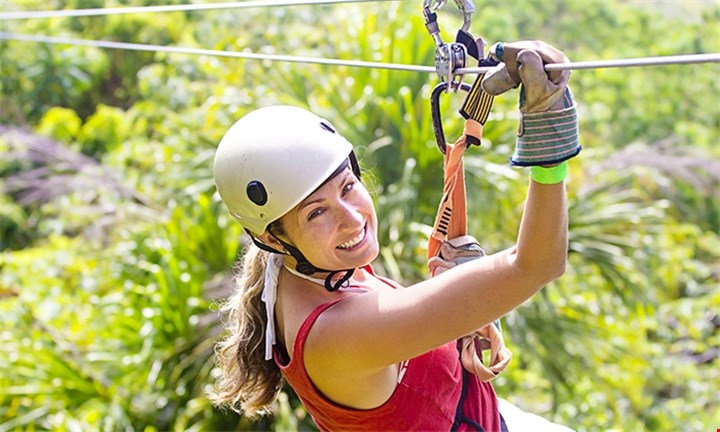 Zip-line Tour Experience for 1 person - R 799 from Cape Canopy Tour