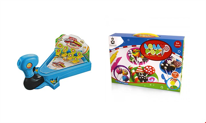 Desktop Pinball & Lolly Pop Mini Dough For R239 incl Delivery