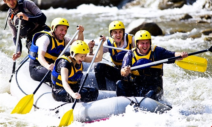 White River Rafting for up to Two at Earth Adventures