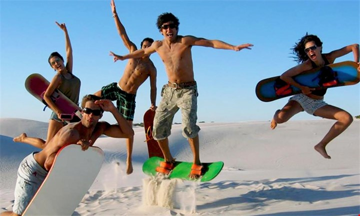 Sandboarding for up to Six with Adventure Sports & Tours 4U