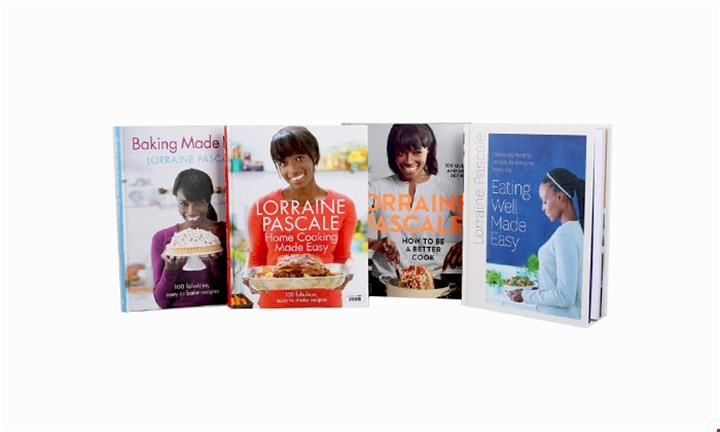 Lorraine Pascale 4 Book Collection for R479