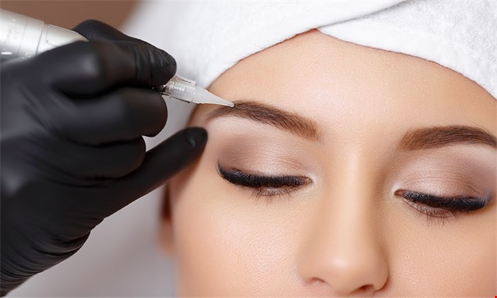 Microblading Permanent Eyebrow Makeup at Advanced Permanent Makeup Cape Town
