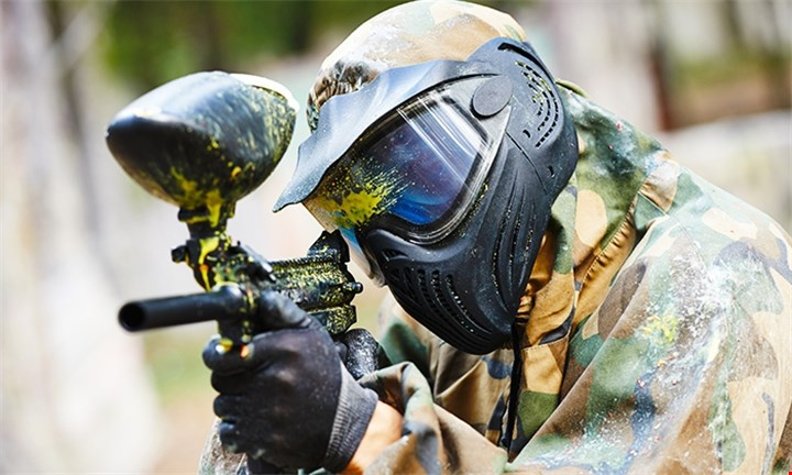 Paintball Session with 100 Balls Each for up to Ten