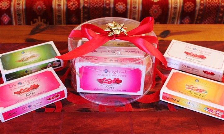 Turkish Delight Gift Packs at Turkspirit Cafe