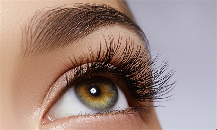 Eyelash Extensions with Optional 2 Week Fill and Eyebrow Shaping at Studio 515
