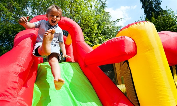 Easter Weekend Fun: Entry for up to Four Kids at FunWorld at Plot 49 Blue Hills