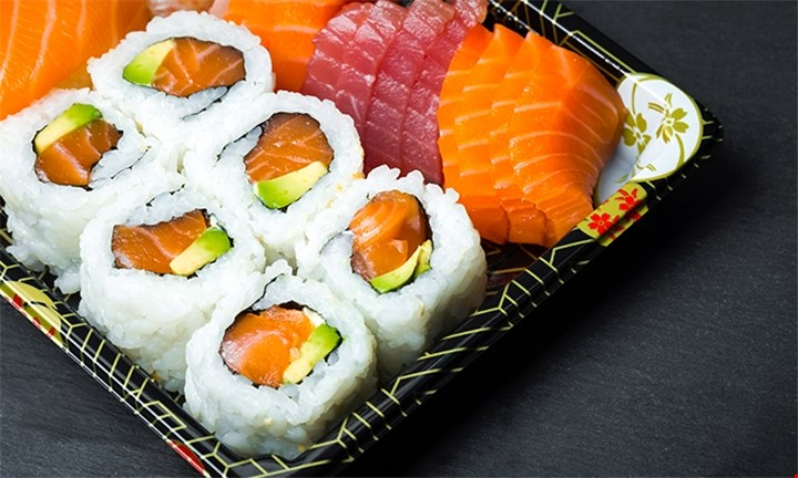 All-You-Can-Eat Sushi and a Pot of Green Tea for Two at Kawayi Sushi Bar