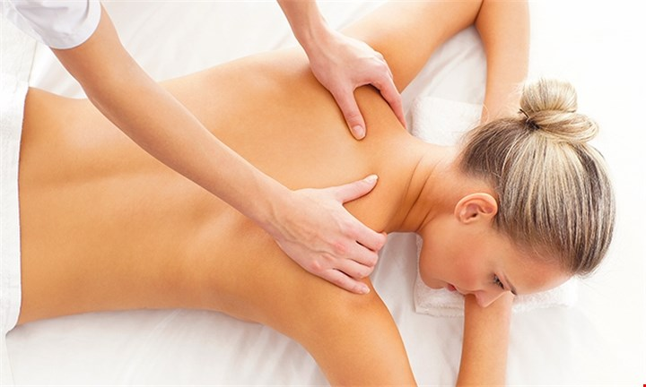 Relaxing 45-Min Back, Neck & Shoulder Massage for One or Two at Steam on Main