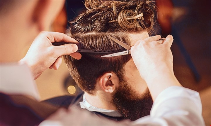Gents Cut with Optional Mud Mask or Hot Shave at Mic's Barber Shop