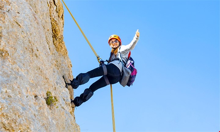 Abseiling Experience for up to Four with Earth Adventures