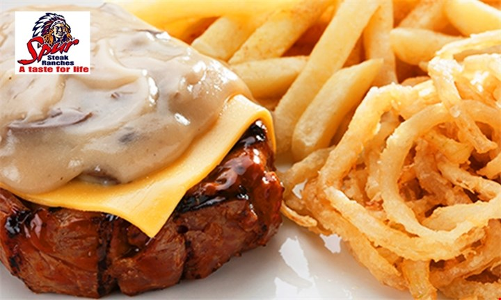 Spur Steak Ranch: 3-Course Meal for Two