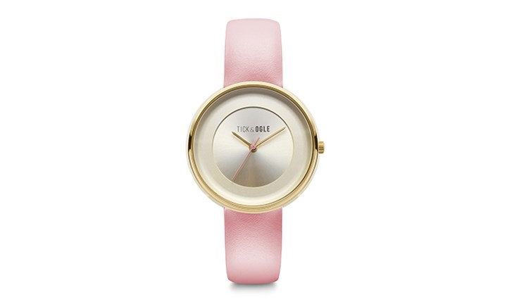 Tick & Ogle Pastel Leather Watch for R799