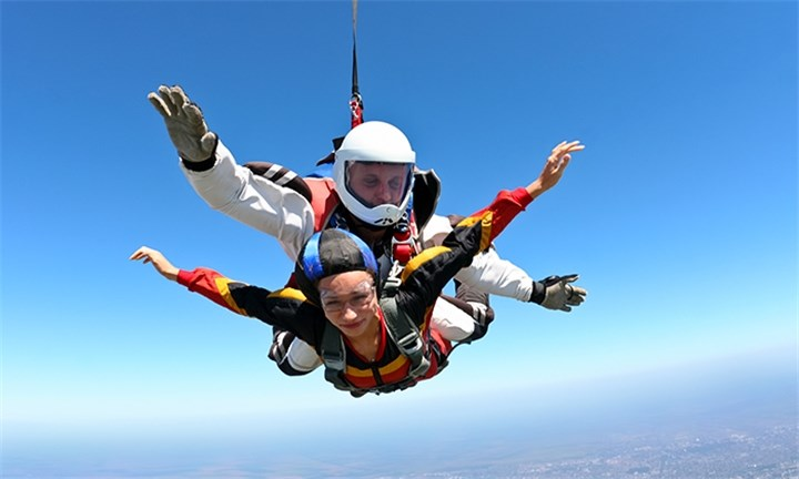 Tandem Introductory Skydive Including Handcam Video with Onroute Adventures
