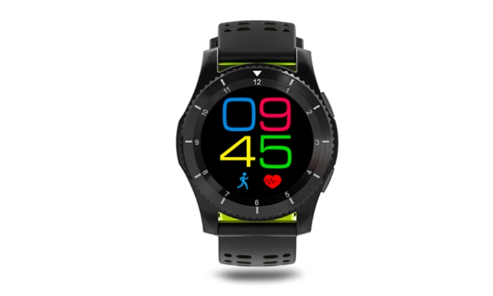 Smart Fitness Sport Watch with GPS, Heart Rate, Blood Pressure & Touch Screen for R999