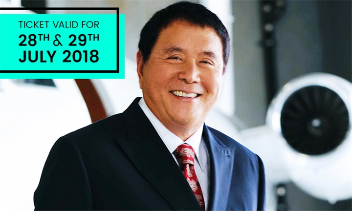 Conference Ticket to see Robert Kiyosaki, Author of Rich Dad Poor Dad