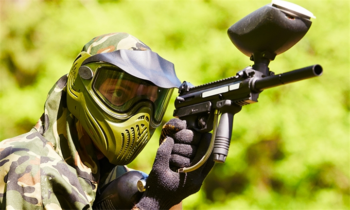 3-Hour Paintball Game for up to 16 with Onroute Adventures