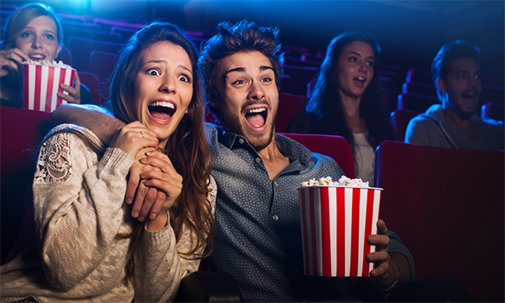 Movie Ticket with Soda & Popcorn for Capitol Cinemas Including Burger at Bailamos Pub & Grill for One or Two