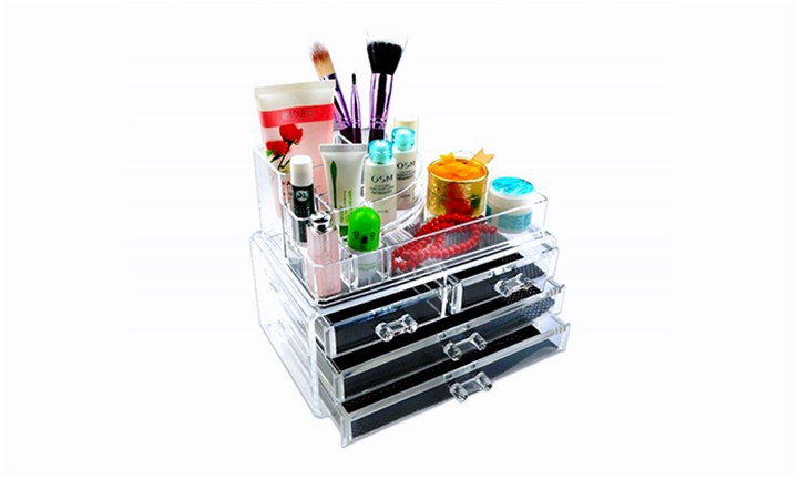 Cosmetic Display Organiser with Drawers for R249