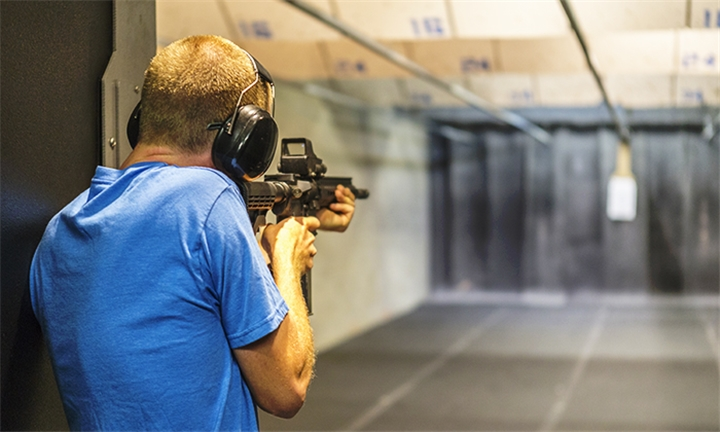Shooting Experience for One or Two at Gun Fun