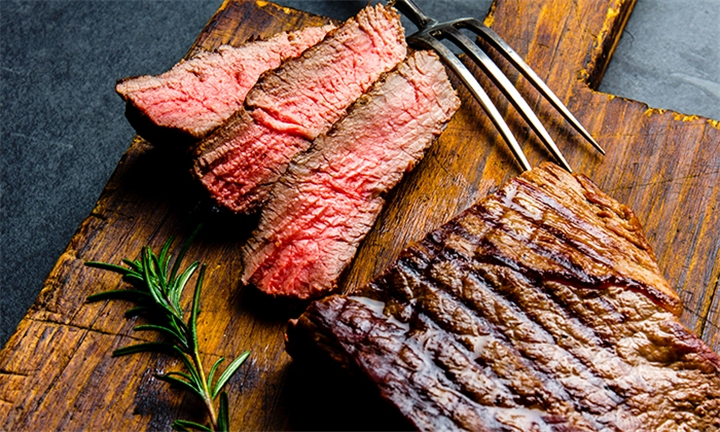 Choice of 250g Steak with Fries for up to Four at Poplars Restaurant