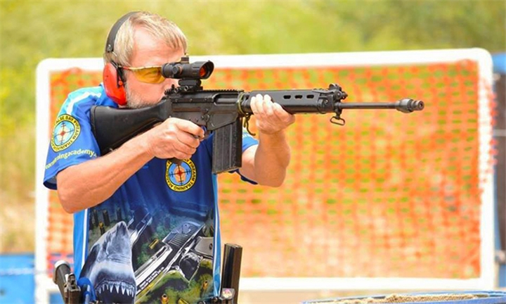 Ultimate Shooting Experience with Beverage for One or Two at False Bay Firearm Training Academy