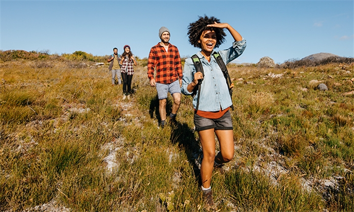 Hiking Trail with Optional Burgers for up to Four with Horse Riding Adventure