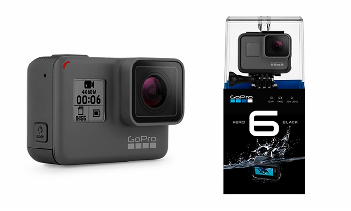 GoPro Hero 6 with Optional 50-in-1 Accessory Kit Including 30 Day Free Cover for R6799