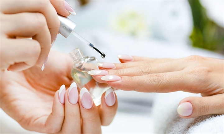 Gel or Acrylic Overlays for Hands and Feet with Nail Art for One Or Two at The Beauty Den