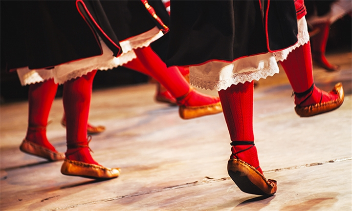 Folk Dance Lessons For One or Two at Ensemble Balkan