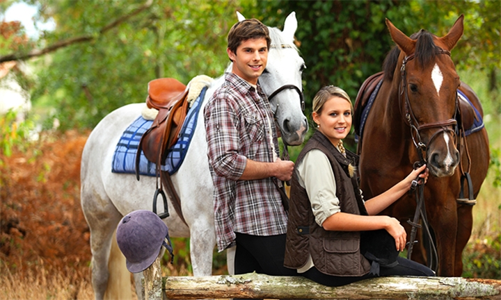 1-Hour Horse Riding Experience for One or Two with Unathi Game Lodge