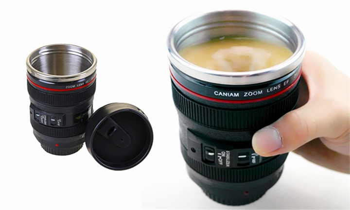 Camera Lens Coffee Cup for R129