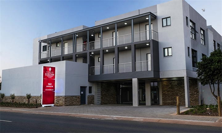 Pretoria: 1 or 2-Night Anytime Stay for Two Including a Bottle of Wine at Faircity Junction Apartments