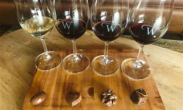 Chocolate and Wine Pairing for up to Four at Wellington Wines