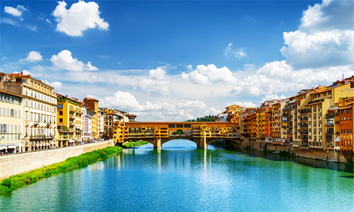 Italy: 9-Night Venice, Florence, Sorrento and Rome Tour for Two Including Breakfast