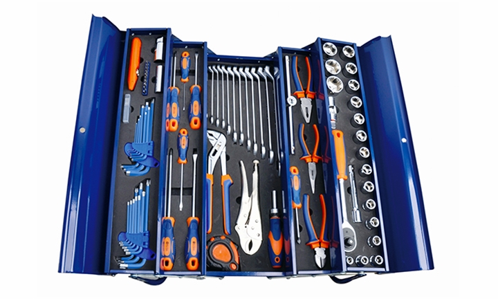 Fragram 85 Piece Tool Kit in Cantilever Tool Box for R1599
