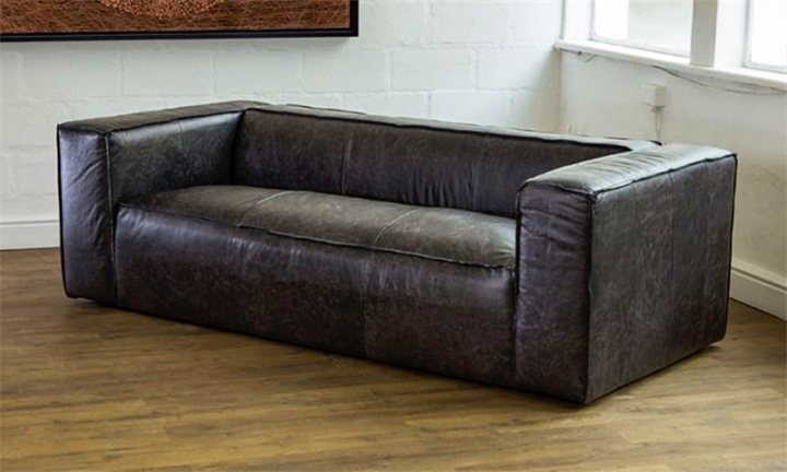Andreas Full Grain Leather Sofa for R23999 Incl Delivery