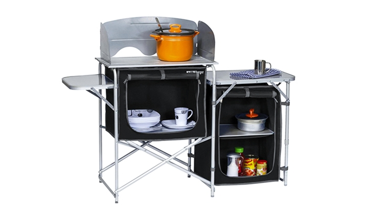 Aluminium Camping Kitchen Set with Sink & Carry Bag for R1499