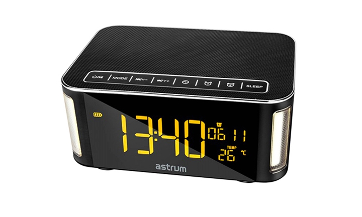 Bluetooth Speaker & Clock Radio for R999