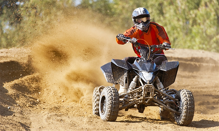 1-Hour Quad Biking with 45-Minute Paintball Target Shooting for up to Six at R.E.A.L. Adventures