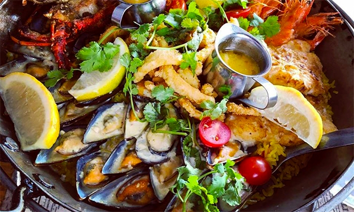Seafood Platter for up to Four at Panama Jacks