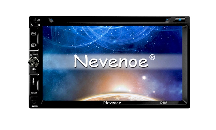 Nevenoe Touch Screen Car DVD Player with GPS, Bluetooth, TV Tuner, FM, RDS - Double Din-2-Din for R2499