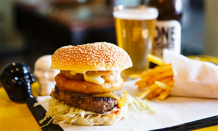 Choice of Burger for up to Four at Redemption Burgers, The Old Biscuit Mill