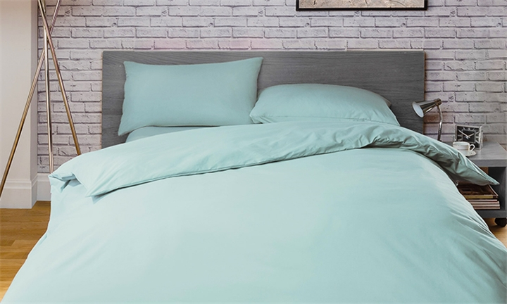 Romatex Polycotton Duvet Cover Set (Duck Egg) from R329