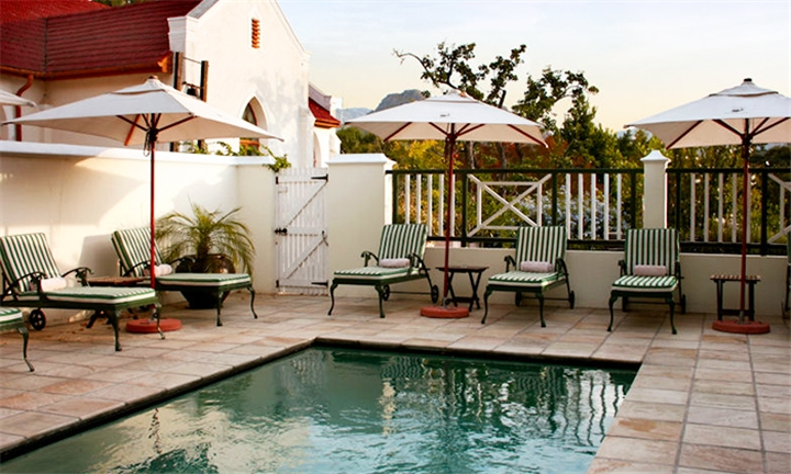 Western Cape: 1 or 2-Night Romantic Stay for Two Including Breakfast at Klein Oliphants Hoek Boutique Hotel
